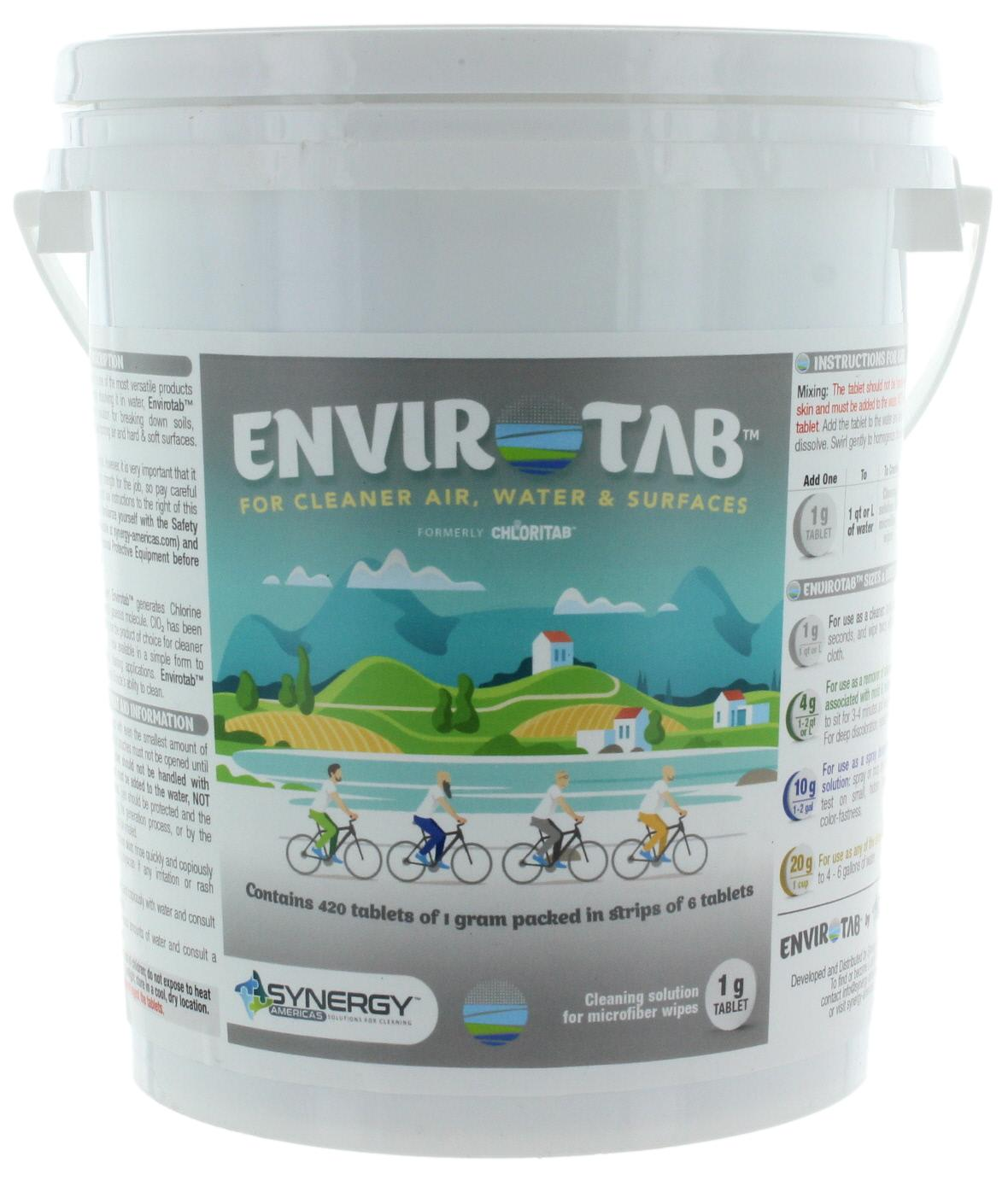Envirotab for Cleaning, 1g Tablets x 420 Pieces